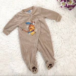 🐻 Disney Baby Boy Warm Onesie Bodysuit 🐻